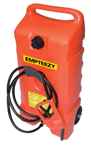 Benzinetank - Trolley mobiele benzinetank 53 liter