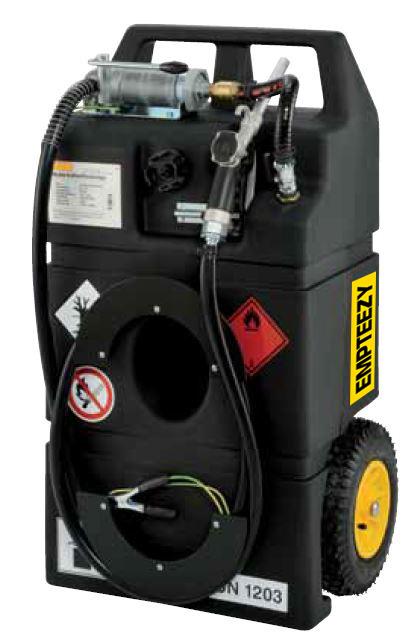 Benzinetank - Trolley mobiele benzinetank 95 liter